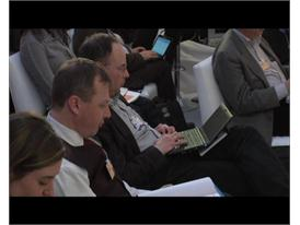 Crowd shots fom the PwC CEO Survey at the 2011 World Economic Forum