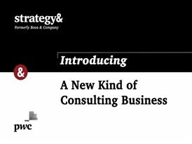 A New Kind of Consulting Business