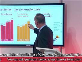 PwC CEO Survey Davos Press Conference Part 2