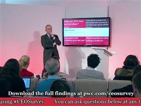 PwC CEO Survey Davos Press Conference Part 4