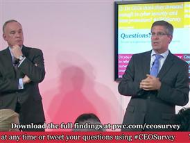 PwC CEO Survey Davos Press Conference Part 6