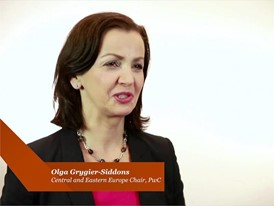 PwC's 20th CEO Survey - Interview with Olga Grygier-Siddons, Chief Executive of PwC in Central and Eastern Europe