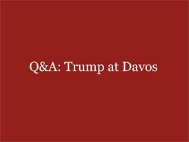 Q&A: Trump at Davos
