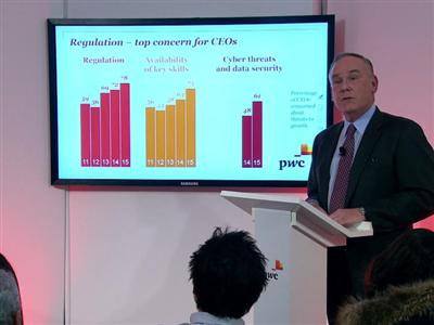 PwC launches 18th Global CEO Survey results in Davos, Switzerland