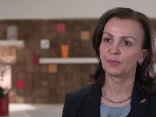 Olga Grygier-Siddons, Chief Executive of PwC in Central and Eastern Europe-