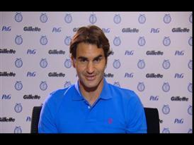 Roger Federer, tennis player