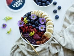 Perfect Purple Oats Bowl