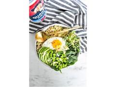 Savory Zucchini Oatmeal Bowl