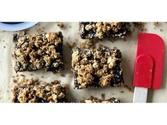 Fig & Flax Oatmeal Bars