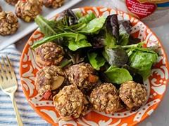 Spiced Apple Oat Meatballs
