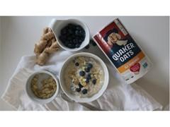 Blueberry Ginger Overnight Oats