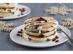 Holiday Cranberry Pancakes