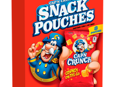 Cap'n Crunch's Snack Pouches