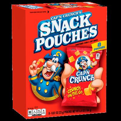 Cap'n Crunch's Snack Pouches