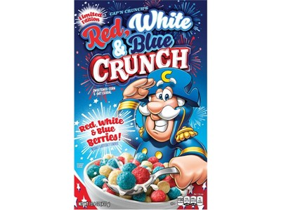 Cap'n Crunch's Red White and Blue Crunch
