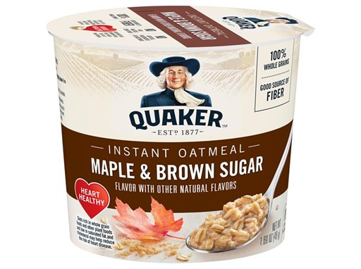 Maple Brown Sugar Instant Oatmeal Cups