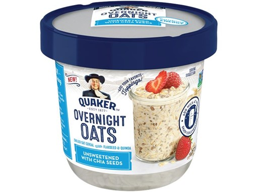 Overnight Oats Unsweetened with Chia Seeds