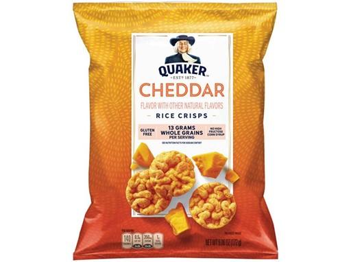 Quaker Rice Crisps Cheddar