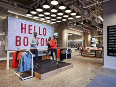 REEBOK OPENS GLOBAL FLAGSHIP STORE AT NEW BOSTON HQ