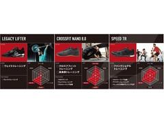 フィットネス界を代表するトレーナーも推奨 2月1日(木)ジムトレーニングの決定版 「Speed TR 2.0」を発売 クロスフィット、リフティング専用トレーニングシューズも登場