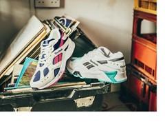 """~キービジュアルには韓国の人気グループ""""Wanna One""""が登場~ 90年代のランニングシューズがオリジナルカラーで初復刻! 流行のボリュームソールや鮮やかなデザインが魅力 「AZTREK OG」 2018年7月19日(木)より発売開始"""