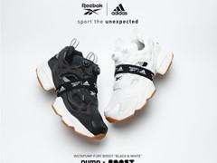 リーボックとアディダスのレガシーを融合した「INSTAPUMP FURY BOOST™」スタイリングを引き立てる洗練されたモノトーンカラーを採用 第三弾「BLACK & WHITE」 2019年11月11日(月)発売