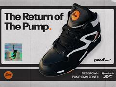 "Reebok's ""Pump Omni Zone II"" Returns From Flight 30 Years After Dee Brown's Iconic ""No-Look"" Dunk"