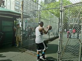 Cam'ron Hits the Blacktop in NYC 3