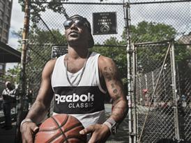 Cam'ron Hits the Blacktop in NYC 8