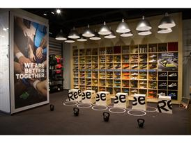 San Diego Shoe Wall
