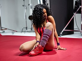 Behind the Scenes Teyana Taylor