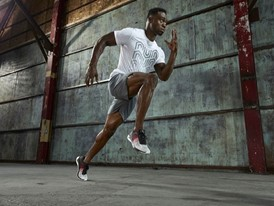 "COMFORT, PERFORMANCE AND STYLE FINALLY COME TOGETHER WITH REEBOK'S NEW ""FAST FLEXWEAVE"" RUNNING SHOE"