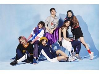 E-girlsのメンバー6名がキービジュアルモデルを務める DMXシリーズ最新モデル「DMX FUSION LITE」誕⽣ 2018年8⽉11⽇(⼟)より発売開始