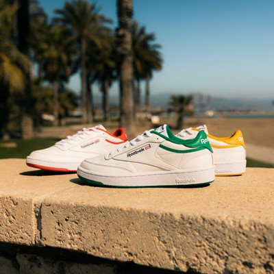 REEBOK CELEBRATES TIMELESS VERSATILITY OF CLUB C WITH 35th ANNIVERSARY COLOR PACK, EXCLUSIVELY FOR EVERYONE