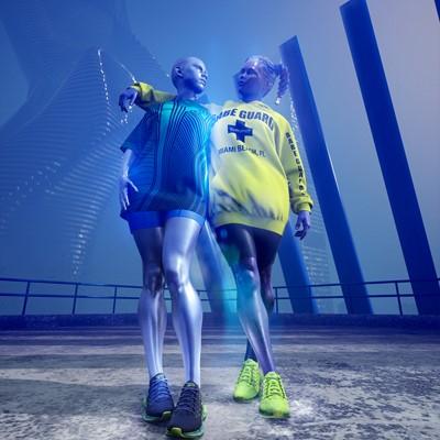 Reebok x Chromat Zig Kinetica - Vector Navy Blue