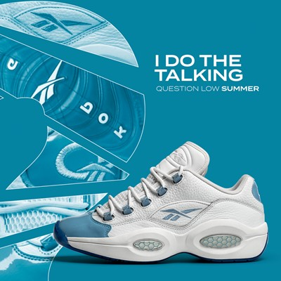 Reebok Question Low Summer Pack - white/blue