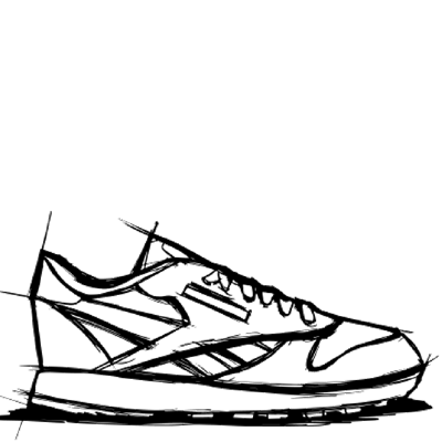 First Pitch - Bee Keeper Sneaker Sketch
