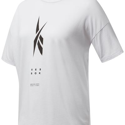 Edgeworks Graphic Tee - White - Front - Women