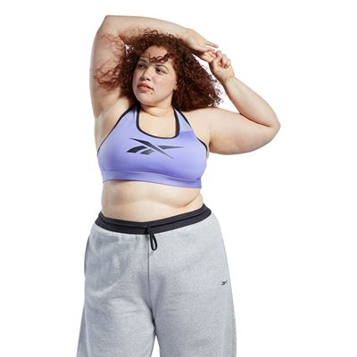 Reebok Lux Racer Medium Impact Sports Bra