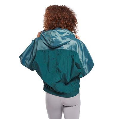 Shiny Woven Track Jacket