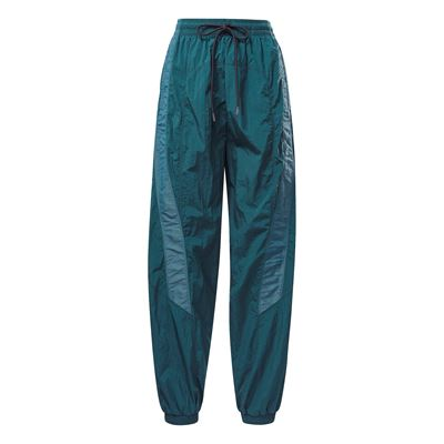 Shiny Woven Track Pant