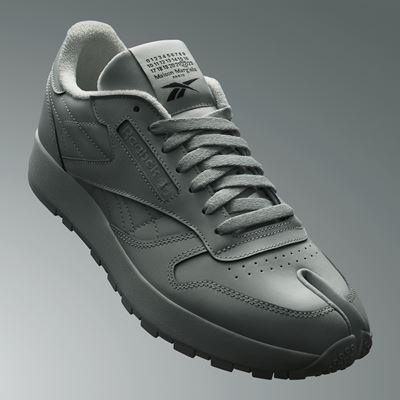 Maison Margiela x Reebok Classic - Leather - Tabi grey - 1920x1080