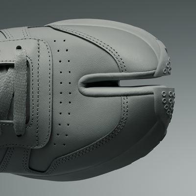 Maison Margiela x Reebok Classic - Leather - Tabi grey - DETAIL 01 - 1920x1080