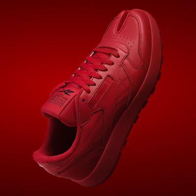 Maison Margiela x Reebok Classic - Leather - Tabi red - 1920x1080