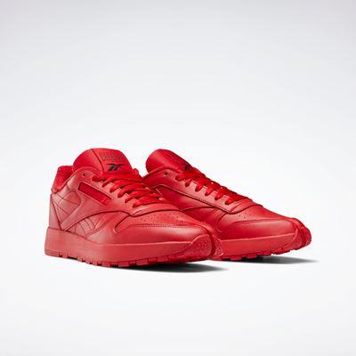 Maison Margiela x Reebok Classic - Leather - Tabi red (1)