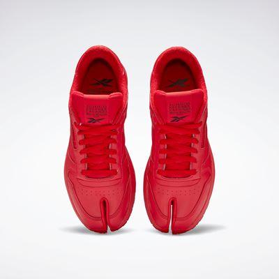 Maison Margiela x Reebok Classic - Leather - Tabi red (3)