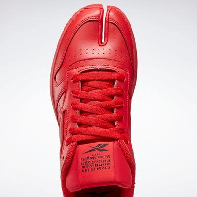 Maison Margiela x Reebok Classic - Leather - Tabi red (7)
