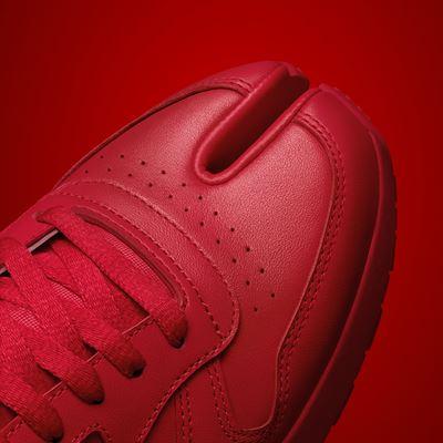 Maison Margiela x Reebok Classic - Leather - Tabi red - DETAIL 01 - 1080X1920