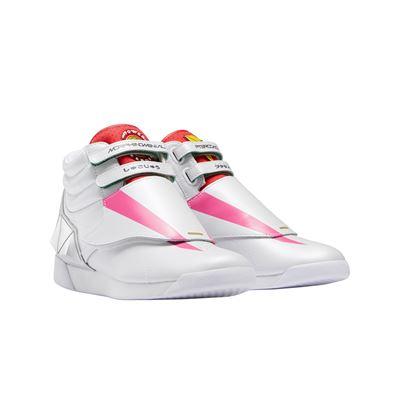 Reebok x Power Rangers collection - Freestyle Hi Pink Ranger FLT