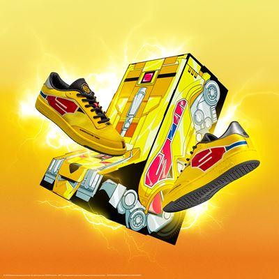 Reebok x Power Rangers collection - Club C Yellow Ranger